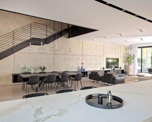 עיצוב סלון מודרני - דניאל וקנין